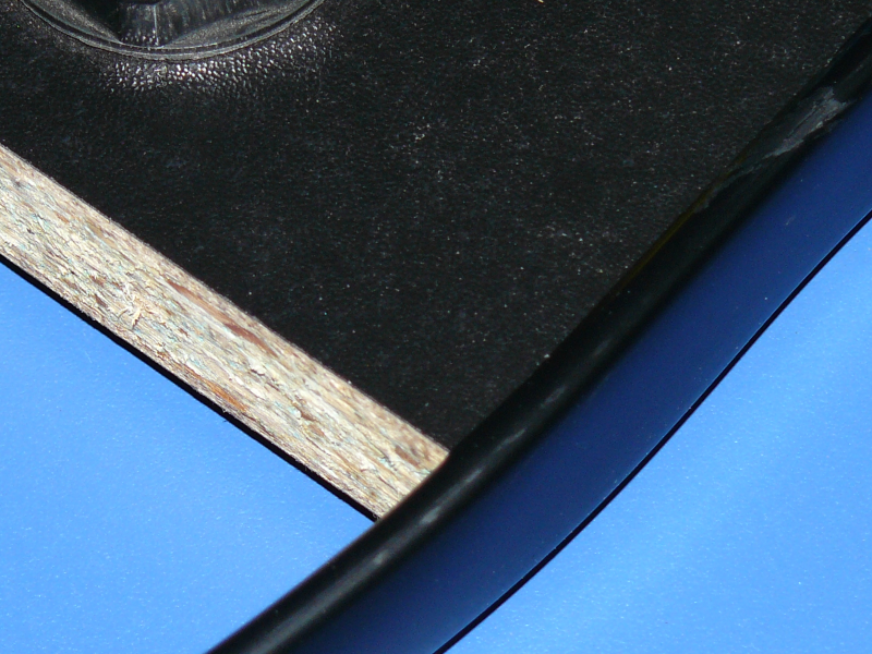 Tablero con umolding turecre (Las imperfecciones han desaparecido)