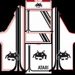 CLASSIC ARCADE (mueble blanco con artes negros)