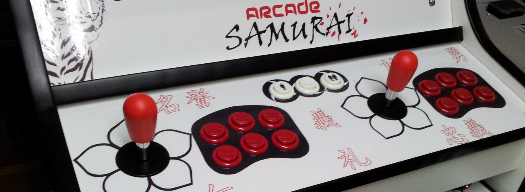 Samurai CAB (acabados en negro y rojo)