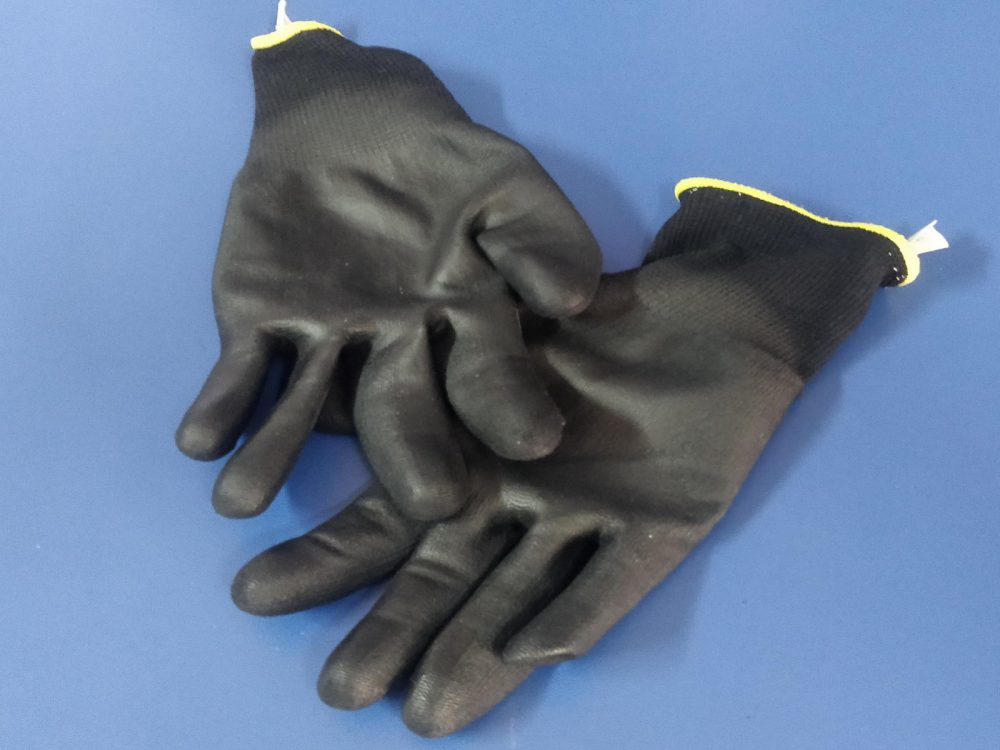 Por tu seguridad utiliza guantes